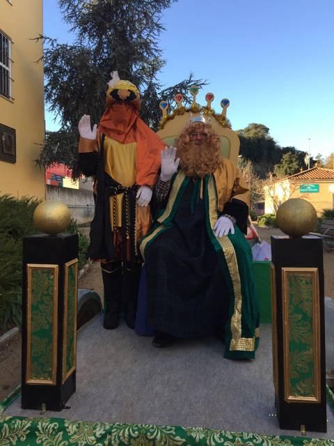 Els reis d'orient han arribat a l'escola